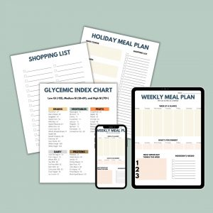 Recipe Binder and Weekly Meal Plan